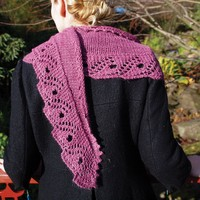 Scroll Lace Scarf PDF